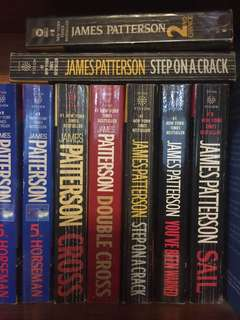 James Patterson collection. More than 30 books