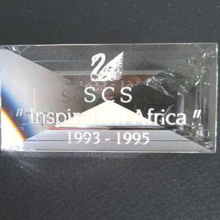 "13 Swarovski Crystal - ""Inspiration Africa"" Series Plaque (AE 1993 - 1995)"
