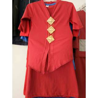 Set Kebaya Cotton Kids Limited Stock