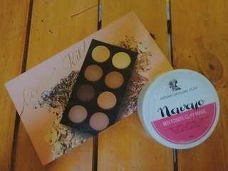 Naked 3 Cosmetics (Contour Kit) with FREE Navajo Bentonite Clay Mask
