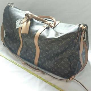 LOUIS VUITTON LV Keepall 55 Bandouliere Travel Bag