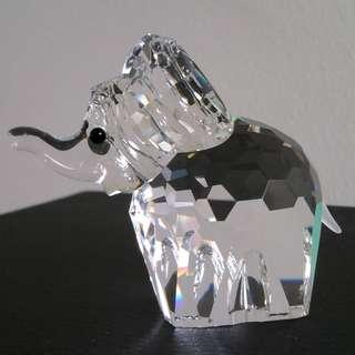 21 Swarovski Crystal - Large Baby Elephant