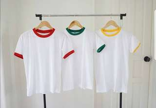 90s Ringer Tees size S to M