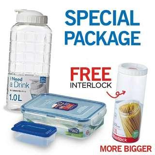 Lock &  Lock special paket 4 pcs