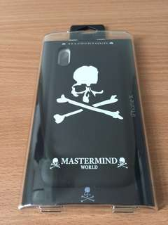 Mastermind World iPhone X Case