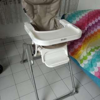Kursi bayi baby chair high chair