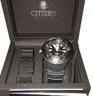 FS Citizen Ecozilla Eco-Drive 300m Professional Dive Watch