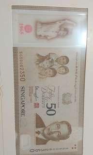 新加坡50年纪念册