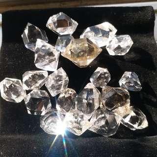 Herkimer Diamond 閃靈鑽 AA Grade 紐約礦場直送