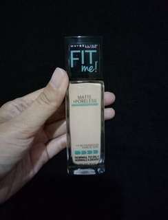 Maybeline fit me poreless foundie