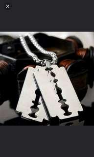 珠寶首飾系列 (有碼,男鈦鋼頸鏈) (ti-stainless steel necklace)