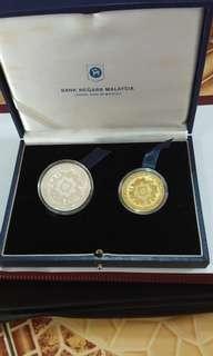 马来西亚银行纪念币