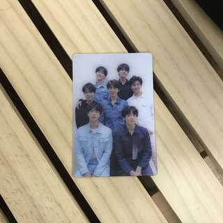 SPECIAL PHOTOCARD BTS LOVE YOURSELF TEAR