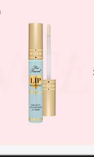 Too Faced Lip Insurance - lipstick primer