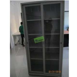 5 LAYER GLASS SLIDING DOOR CABINET--KHOMI