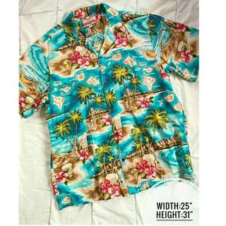 RJC Summer Palm Haiwaiian Buttondown