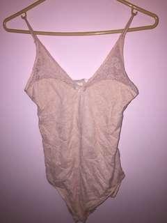 BNWT Sheer Lace Bodysuit