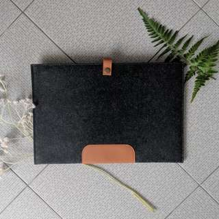 INSTOCK Grey Felt Macbook Lapyop Sleeve Bag