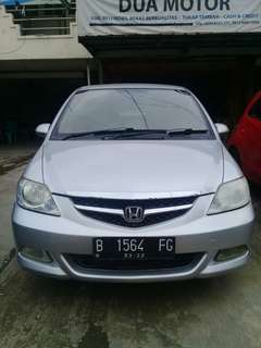Honda City Idsi 2007 matic silver Dp 10 juta