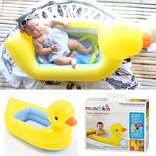 Munchkin inflatable bathtub