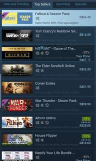 Cheap steam games 10% off Steam price!