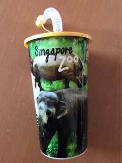 新加坡動物園汽水杯