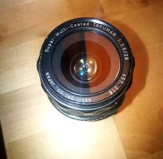 28mm 3.5 Super Multicoated Takumar