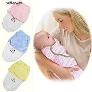 Cute blanket swaddling baby sleeping bag