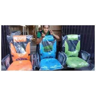 HB-9002H MIDBACK CHAIRS - ORANGE  BLUE & GREEN--KHOMI