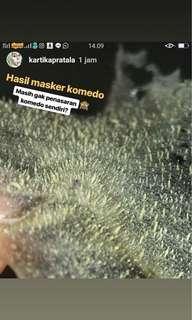MASKER KOMEDO HERBAL