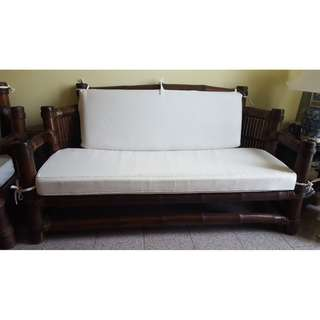 Bamboo 3-4 Seater Sofa / Couch
