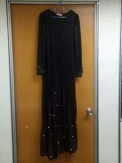 Black Lace Dress #rayaletgo