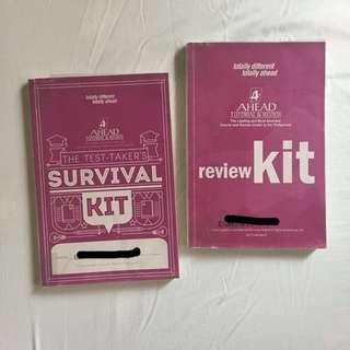 UPCAT/ACET/DCAT passer's college entrance tests review books
