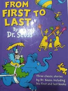 Dr Seuss storybook