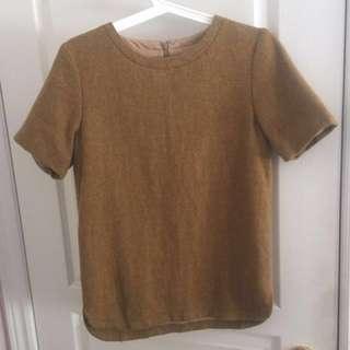 Wool blouse - size S - from joe fresh