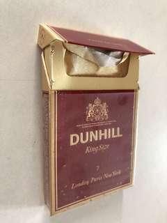 Dunhill cigarettes box