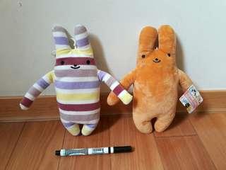 🚚 [全新]  兩個合售價。 兔兔吊飾