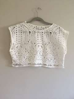 White top lace