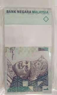 malaysia rm1 100连号