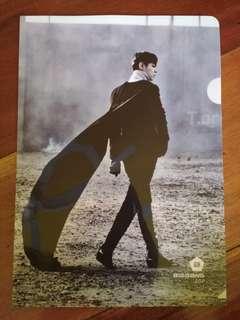 BIGBANG T.O.P Monster L-Folder