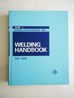 Welding Handbook Eighth Edition Volume 3
