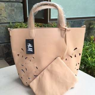 H&M TOTE WITH SLING