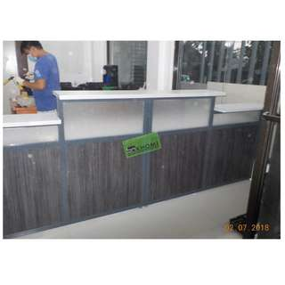 RD-0788 CUSTOMIZE RECEPTION COUNTER--KHOMI