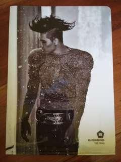 BIGBANG TAEYANG Monster L-Folder