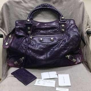 Balenciaga Step in Purple GSH