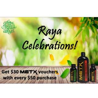 METX Raya Celebrations Offer (380ml)