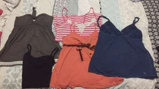 Abercrombie and fitch & hollister tops