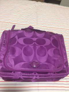 Coach original travel toiletries bag