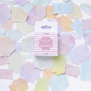 pastel planner stickers