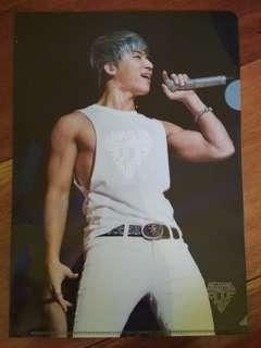 BIGBANG DAESUNG Alive Tour L-Folder